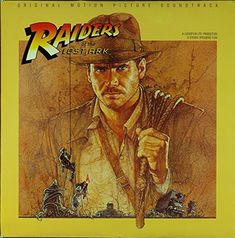 Raiders Of The Lost Ark (1981) Original Soundtrack Poster (36x36) @ niftywarehouse.com #NiftyWarehouse #IndianaJones #GeorgeLucas #HarrisonFord #Movies