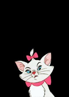 Gatos Disney, Disney Cats, Disney Love, Disney Magic, Memes Gifs, Marie Cat, Gata Marie, Disney Phone Wallpaper, Cartoon Profile Pictures