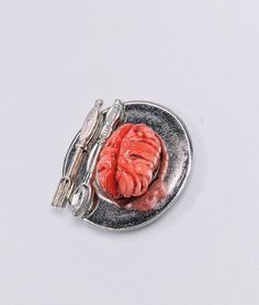 This realistic anatomical brain is made from polymer clay and it will make a great gift for Brain Cancer month or gift for medical students/doctors. Also great for any gothic style. Everything is handmade and one of a kind.  ✦ ✦ ✦ Claim your 15% discount here: (Copy and Paste link on URL for instant