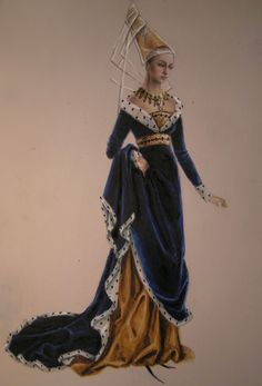 A lady of Middle ages by edarlein.deviantart.com on @DeviantArt
