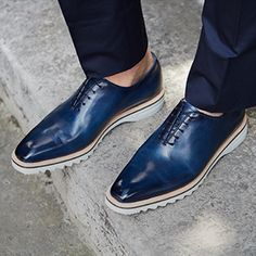 Discover the world of Berluti. Shoes, ready-to-wear and bespoke, leather goods. Find the stores addresses or shop-on-line Berluti Mens Fashion Shoes, Men S Shoes, Men's Fashion, Berluti Shoes, King Shoes, Best Sneakers, Dream Shoes, Baskets, Luxury Shoes