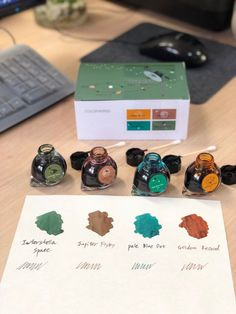 Colorverse Fountain Pen Ink - Voyager 1 Limited Edition Set
