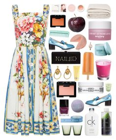 """Like doves in the summer, don't be a bummer, babe"" by rocior24685 ❤ liked on Polyvore featuring Peter Pilotto, Gucci, Edie Parker, Ela Stone, NARS Cosmetics, Butter London, Korres, Frette, Sisley and Kiehl's"