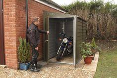 Shed / Garage / Workshop / Motorcycle Storage – Titan 940 (approx. x – Best Motorcycles Motorbike Shed, Motorcycle Storage Shed, Motorcycle Shed Ideas, 125cc Motorbike, Scooter Storage, Metal Shed, Wood Shed, Garage Bike, Motorcycle Garage