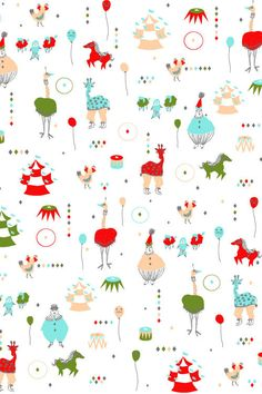 Circus Troupe wallpaper by Emily Isabella