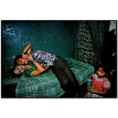 This prostitute is a transvestite.Falkland Road, Bombay, India. 1978 by Mary Ellen Mark