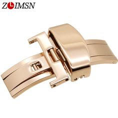 $5.37 (Buy here: https://alitems.com/g/1e8d114494ebda23ff8b16525dc3e8/?i=5&ulp=https%3A%2F%2Fwww.aliexpress.com%2Fitem%2F16mm-Rose-Gold-Polished-Butterfly-Deployment-Watch-BAND-Strap-Clasp-Buckle-K22R%2F740158144.html ) 16mm Rose Gold Polished Butterfly Deployment Watchbands Metal Buckle Watch Clasp Wristwatch Button Montre Fivela Fermoir  for just $5.37