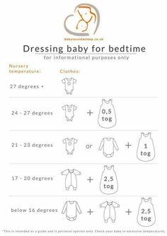 Dressing baby for bedtime