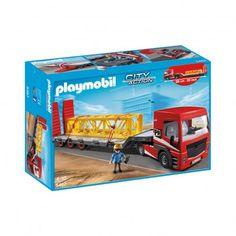 Tracteur routier avec grande remorque  réf.5467  PLAYMOBIL® 40 €