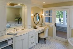love door to the outdoors and great make-up spot | Plan 013S-0014 | houseplansandmore.com