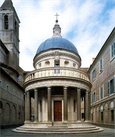 Donato D'Angelo Bramante, Tempietto, Rome 1502