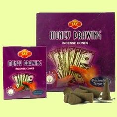 Money Drawing Incense Hand rolled Money Drawing Incense Cones by the Sandesh Agarbathi Conpany in India. Their incense consists mainly of natural forest products and natural oils (approximately The result is that this incense is