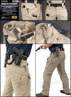 Cargo pants for tacticals