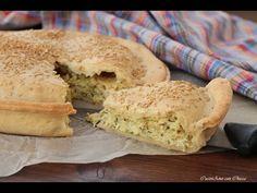 Lasagna di pane con prosciutto e zucchine