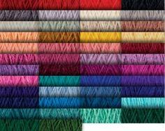 yarn colors for JaggerSpun Zephyr Wool-Silk 2/18 Yarn
