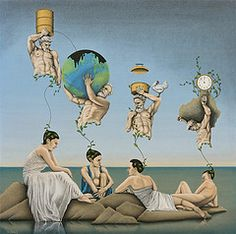 The Doomsday Clock (Frits Dang) Tags: art clock surrealism fine doomsday doomsdayclock
