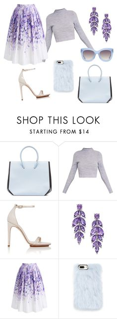 """""""Lilac"""" by jessica-castrooo on Polyvore featuring Marni, Calvin Klein, Chicwish, Skinnydip and Alice + Olivia"""