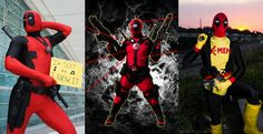 Deadpools for your enjoyment! Deadpool cosplay is by far one of the most popular at conventions, and I've seen different so many different versions piling into our inbox! Left to Right is Greg, Wade, and Craig.     Photos by Eurobeat Kasumi Photography, unknown and Michael Himawan of Pixxo Photography.    Marvel's use of all photos are governed by the Marvel.com Terms of Use and Privacy Policy. We are no longer accepting cosplay submissions for Costoberfest 2012.