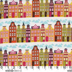 Patty Young - Heaven & Helsinki - City Block in Orange