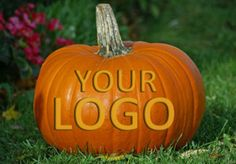 put your logo or name etched / carved on a pumpkin by sergionjnyc