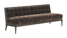 Olso Banquet  MidCentury  Modern, Transitional, Upholstery  Fabric, Wood, Sofa by Nancy Corzine