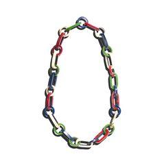 Missoni chain sautoir necklace, 1980s