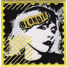 Blondie Postage Embroidered Patch