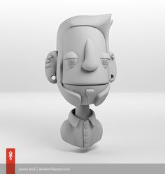 Puppet Self Portrait by Jeremy Kool, via Behance
