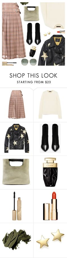 """""""Outfit of the Day"""" by sproetje ❤ liked on Polyvore featuring Toga, The Row, Yves Saint Laurent, Simon Miller, Stila, Clarins, Bobbi Brown Cosmetics, Bloomingdale's, Gucci and StreetStyle"""