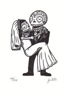 skulls wedding - Google Search