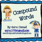 Compound Word Literacy Center Students will match 2 words together to make a compound word. This can be used as a group activity or as a Literacy C...