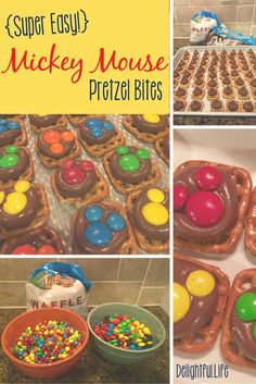 These adorable Mickey Mouse Pretzel Treats are great for a birthday party or movie night! Super easy, fun for the whole family!