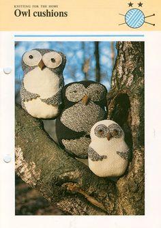 Knit Owl pattern.