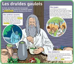 Fiche exposés : Les druides gaulois
