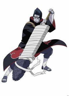 View an image titled 'Kisame Hoshigaki Art' in our Naruto: Ultimate Ninja Storm art gallery featuring official character designs, concept art, and promo pictures. Naruto Shippuden Sasuke, Anime Naruto, Madara Vs Hashirama, Manga Anime, Anime Akatsuki, Naruto Oc, Itachi Uchiha, Kakashi, Otaku Anime