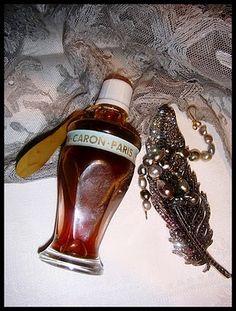 Vintage Caron Bath Oil bottle