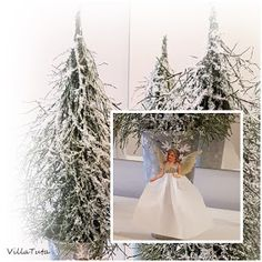 Luonnonmateriaalista Diy Christmas Garland, Christmas Love, Christmas Trees, Table Decorations, Holiday Decor, Wedding Dresses, Crafts, Home Decor, Basteln
