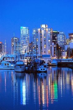 Blue Vancouver BC Canada