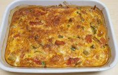 Καλοκαιρινή Ομελέτα φούρνου! Lasagna, Cooking Recipes, Snacks, Meals, Ethnic Recipes, Food, Decor, Appetizers, Decoration