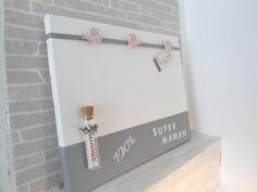 grand pele mele FETE DES MERES, soliflore amour,arrosoirs roses Création unique cmhomedeco : Décorations murales par cm-homedeco