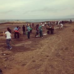 Cleaning Blitz @ Kuta Beach RBBR