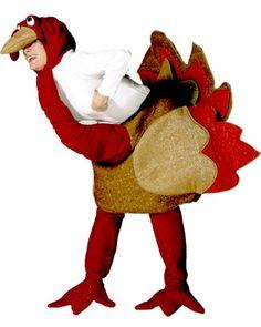 déguisement dinde de Noël adulte : une idée rigolote pour éviter un repas de Noël ennuyeux !!