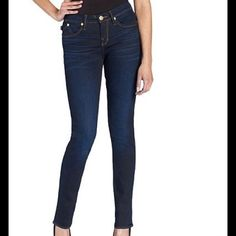 """Rock & Republic Berlin Style Jeans Fist photo of model wearing this style of Jeans. Last 3 pics are actual item/color. Jeans are made of 98% Cotton and 2% Spandex. Size 14M. Berlin Style. Skinny Jean. Inseam """"31. Rise """"10.5. Length """"40.  Laying flat 15. This item is NOT new, It is used and in Good condition. Authentic and from a Smoke And Pet free home. All Offers through the offer button ONLY. Please use the Offer button, I WILL NOT negotiate in the comment section. Ask any questions BEFORE…"""