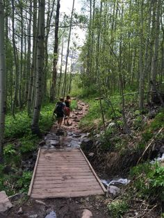 Walking on Crater Lake Trail at Maroon Bells in Aspen is the perfect for adventurers!