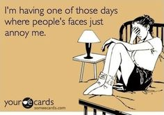 like when you are not a morning person and one of your family members definitely is...