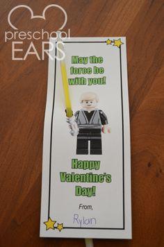 Preschoolears: Star Wars Valentine