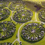 Incredible drone footage captures the bizarre Danish circular community of Brøndby Garden City Travel News, Aerial Photography, Travel Photographer, The Incredibles, Mail Online, Daily Mail, City, Danish, Community