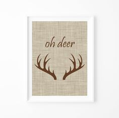 Hey, I found this really awesome Etsy listing at https://www.etsy.com/jp/listing/86879400/oh-deer-print-reindeer-antler-wall-art