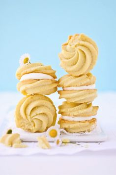 Lemon Spritz Cookies