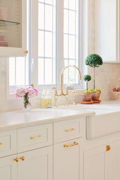 My Classic White Kitchen Remodel #kitchenlightingremodel